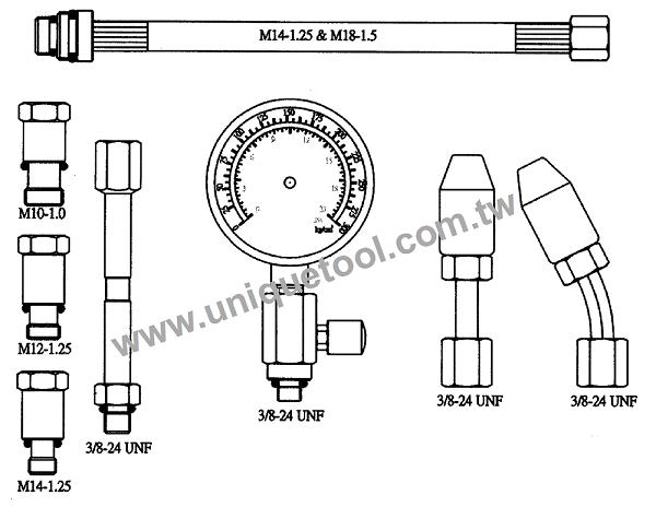 un07004-universal compression tester set